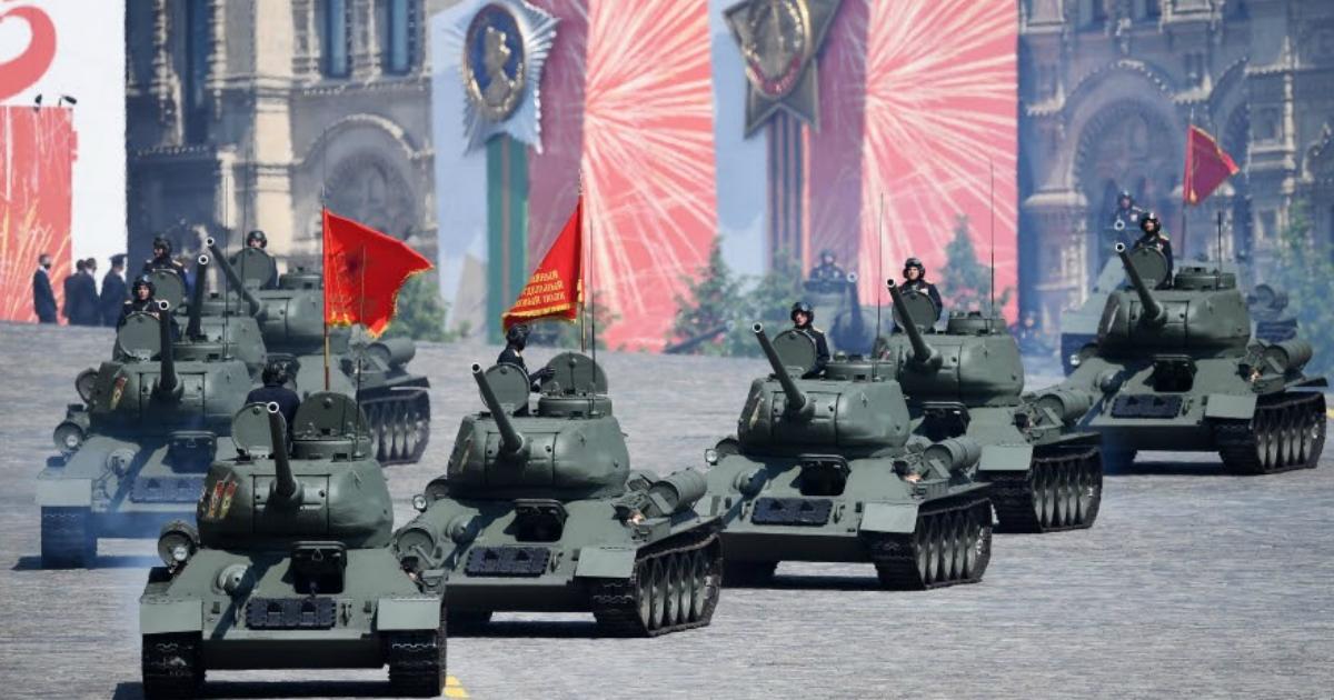 Фото Парад Победы: прямая трансляция с Красной площади