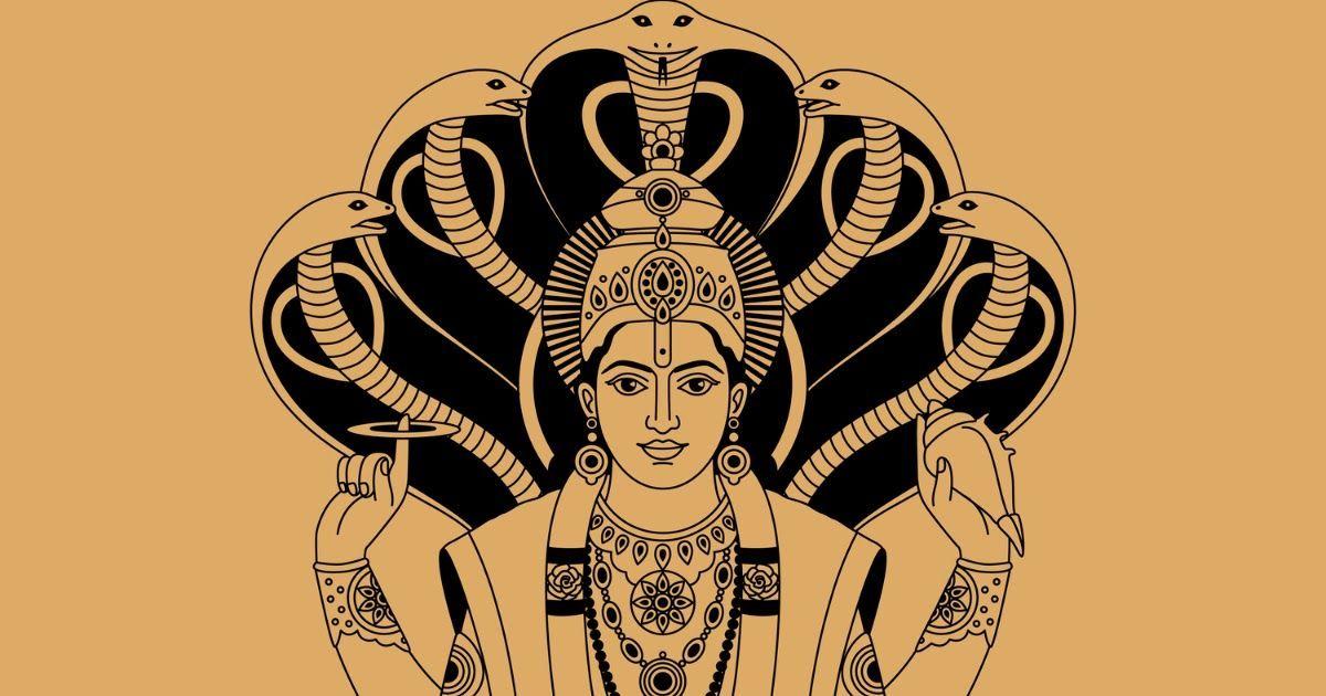 Фото Кто такой Вишну? Бог Вишну в индуизме: хранитель вселенной и муж богини Лакшми
