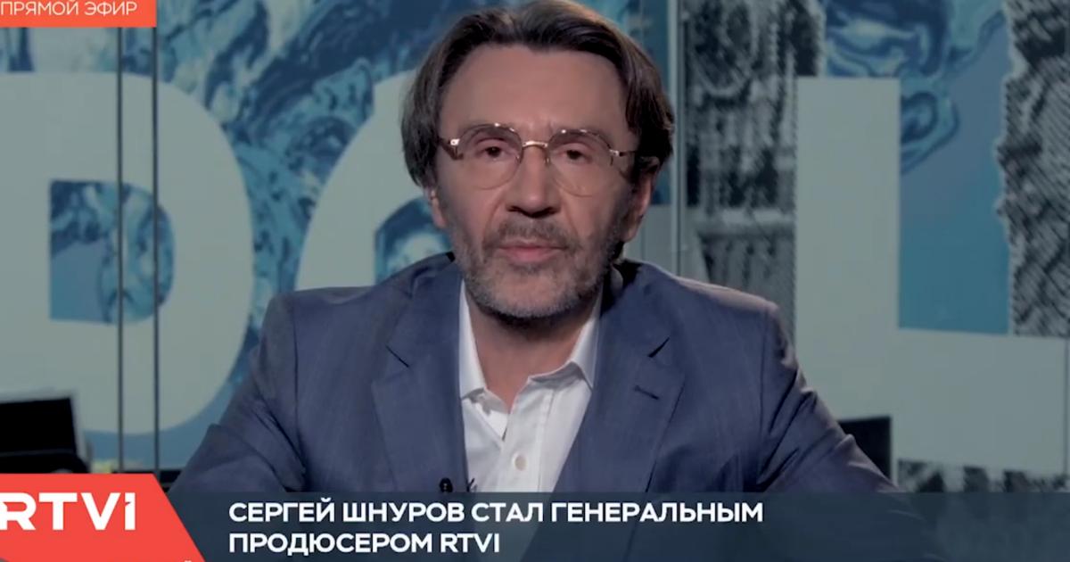 Фото Сергей Шнуров стал генеральным продюсером телеканала RTVI