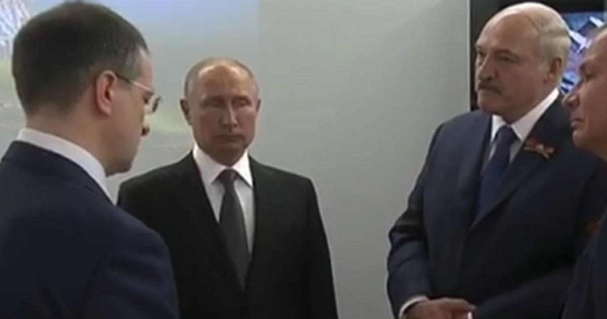 Фото Погонял на глазах Путина: вопрос Лукашенко поставил в тупик Мединского