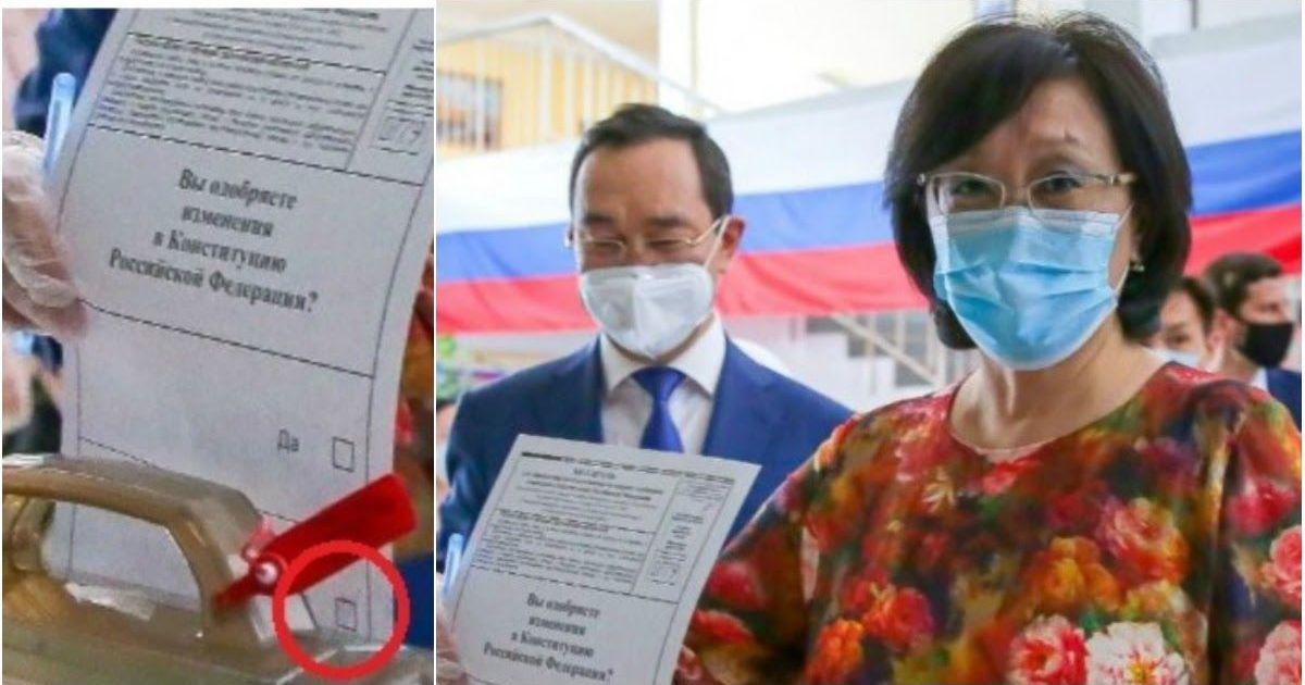 Фото «Выстрел в ногу»: мэр Якутска публично проголосовала против поправок