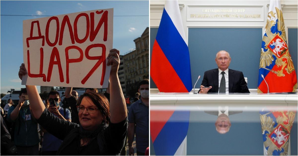 Фото Президент на максималках. Зачем Путину был нужен референдум