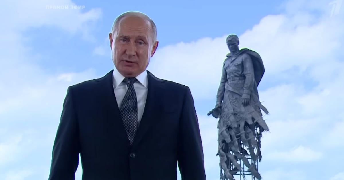 Фото СМИ рассекретили процесс съемки обращения Путина