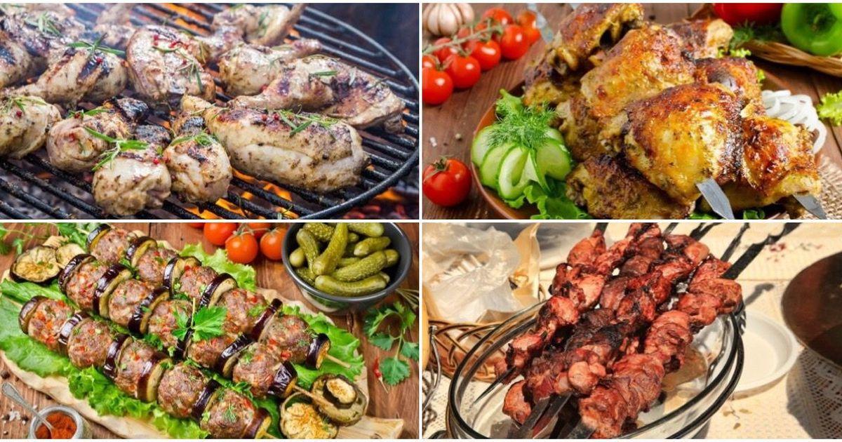 Фото Подборка вкусных блюд на мангале
