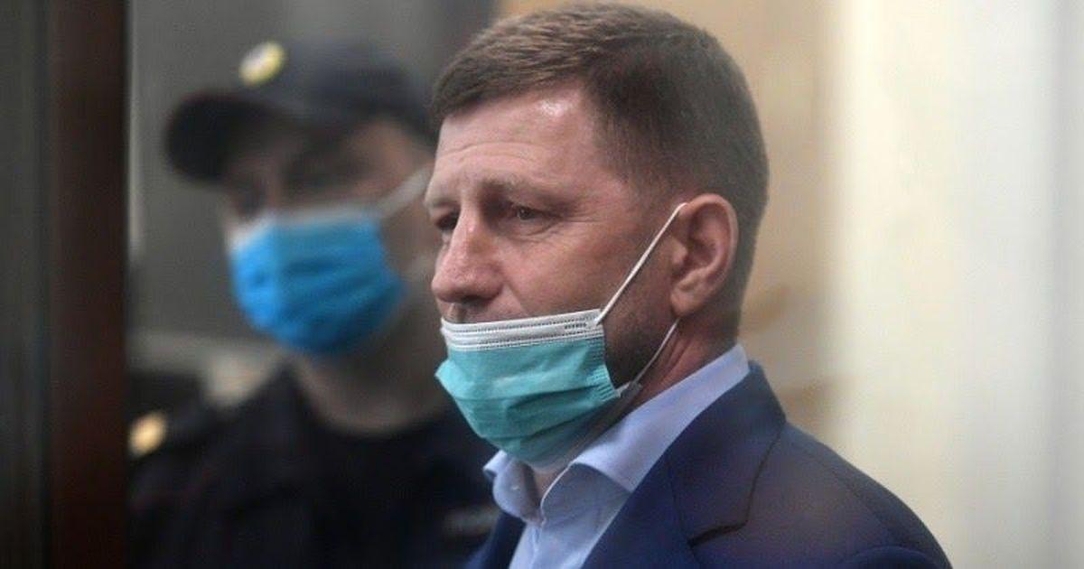 Фото Хабаровского губернатора Фургала отправили в СИЗО на два месяца