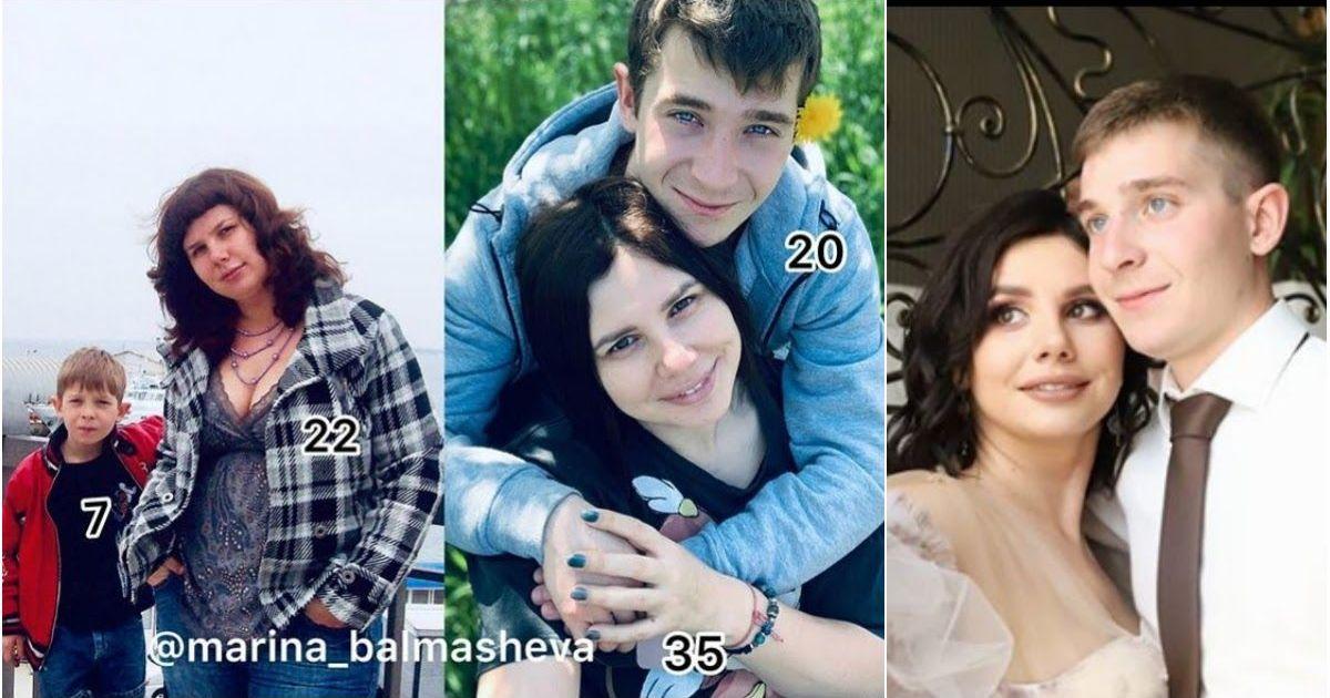 Фото Беременная блогер  Балмашева вышла замуж за своего молодого пасынка