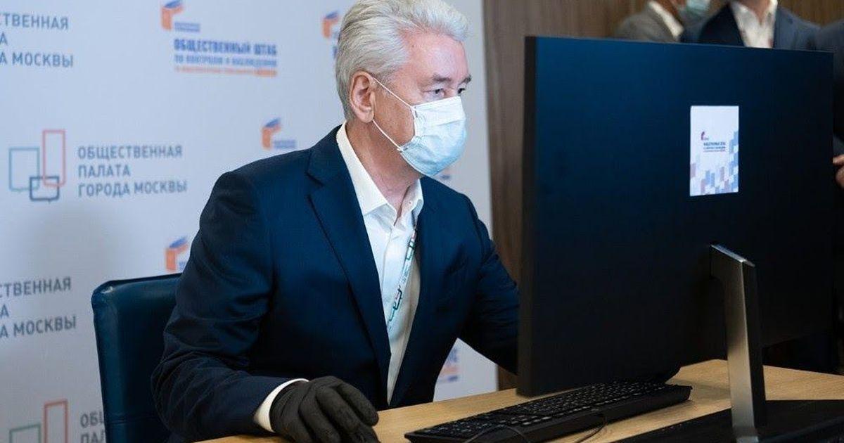 Фото Собянин: коронавирус невозможно искоренить, он с нами навсегда