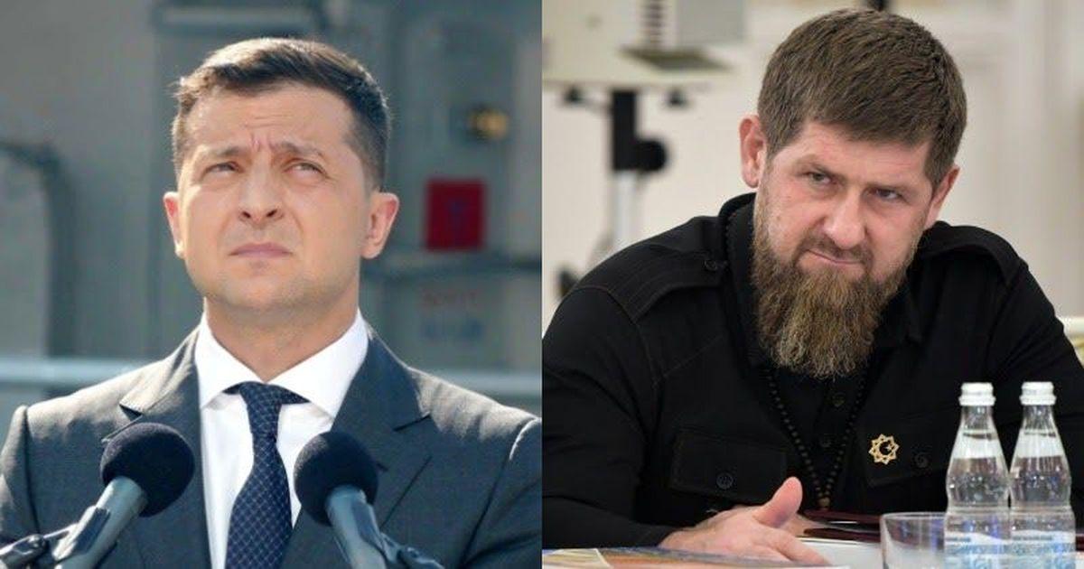 Фото Кадыров потребовал у Зеленского «подтвердить извинения» после кадров, на которых он плачет