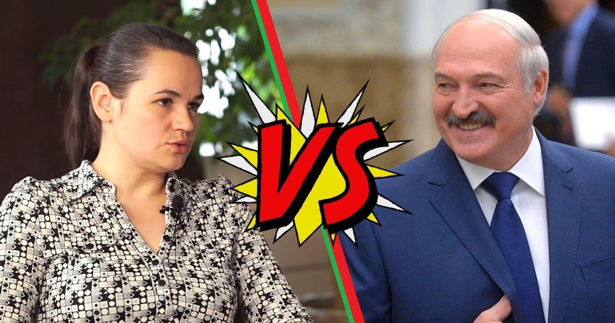 Фото Светлана Тихановская против Лукашенко: домохозяйка во главе оппозиции Беларуси