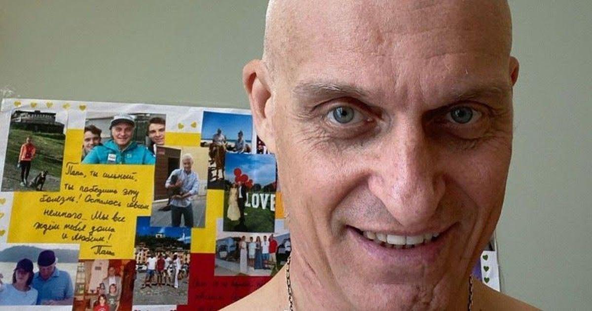 Фото «Я все-таки потерял волосы». Тиньков рассказал, как борется с лейкозом