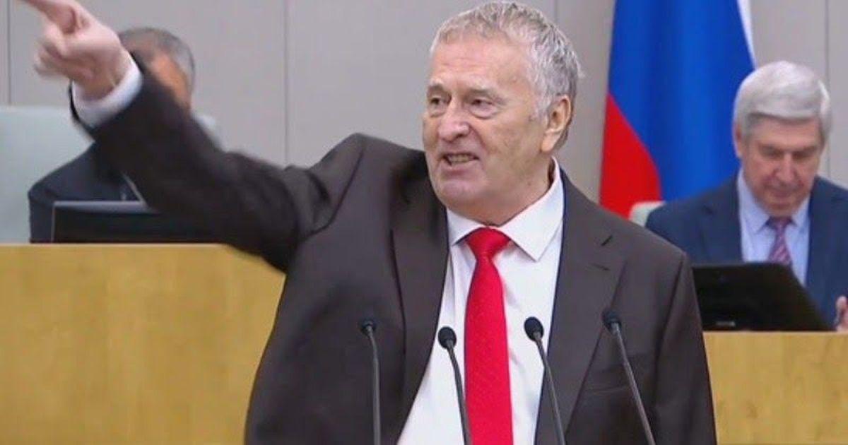 Фото Жириновский в Думе резко выступил перед Мишустиным по делу Фургала