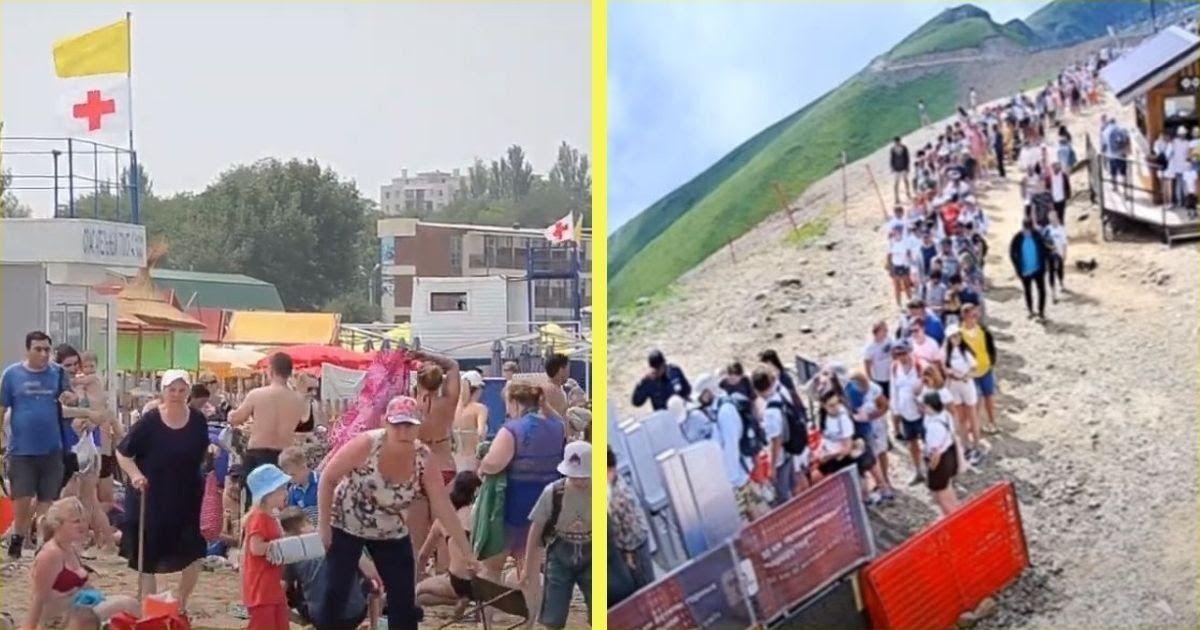 Фото «Нищеброды выбрались на юг». Жители Сочи и Крыма – о курортниках