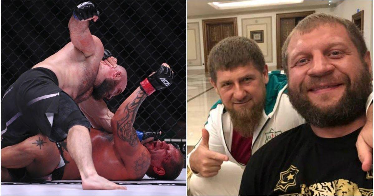 Фото Кадыров разочарован: глава Чечни раскритиковал проигравшего Емельяненко