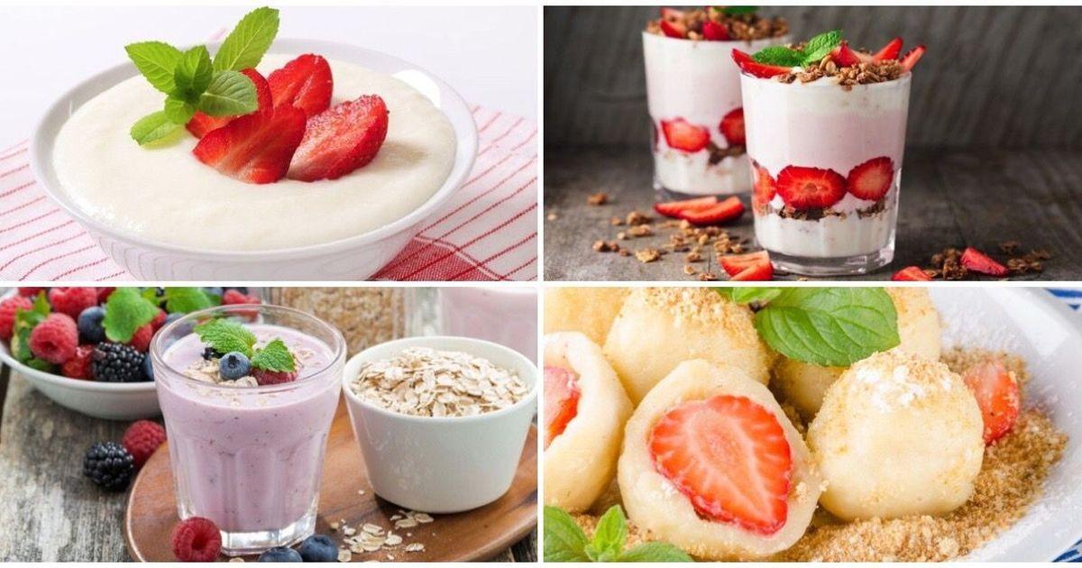 Фото ТОП-7 сытных завтраков с ягодами