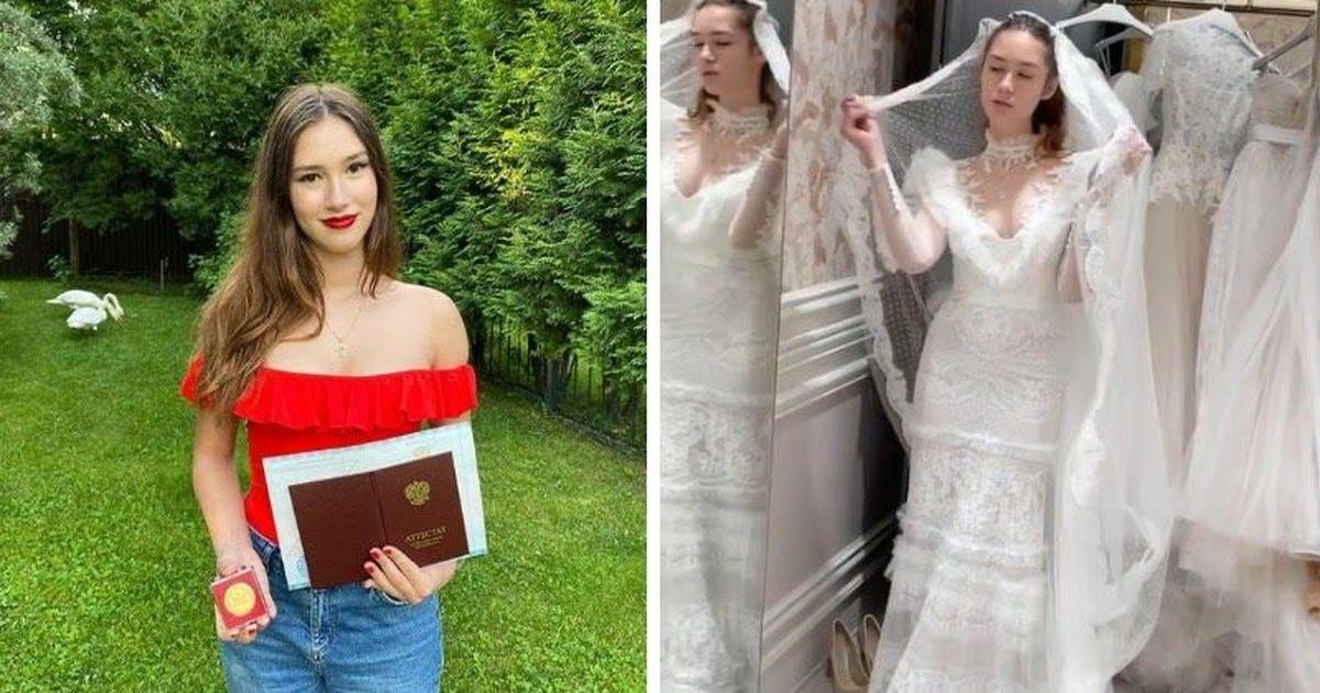 Фото 18-летняя дочь Немцова сыграла свадьбу на Рублевке