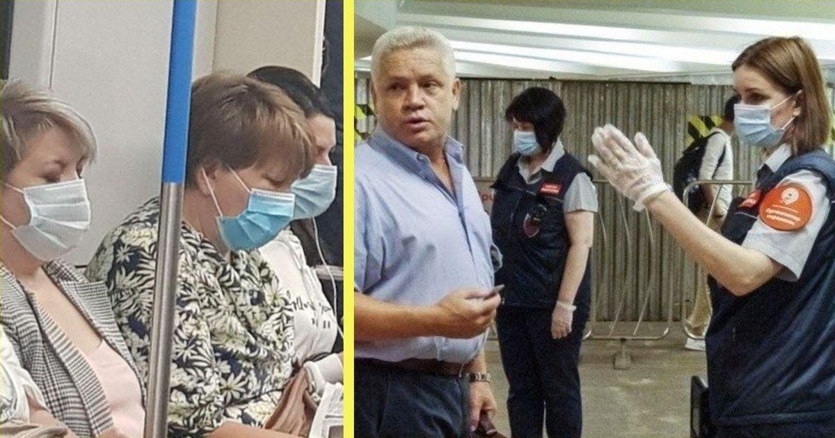 Фото Облавы и штрафы. Как и зачем в Москве ужесточили масочный режим