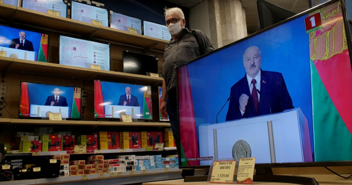 Фото Лукашенко жестко атаковал Россию в обращении к нации. Как это понимать