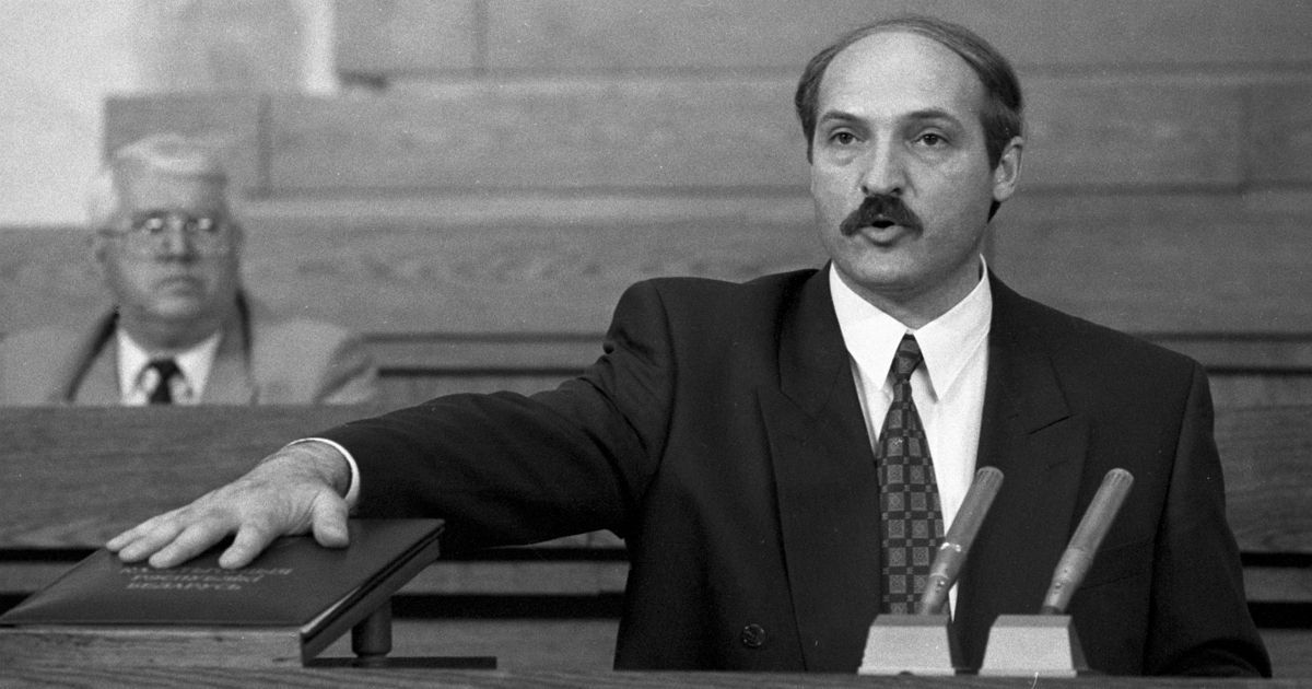 Фото Александр Лукашенко: как сын доярки стал Батькой и президентом