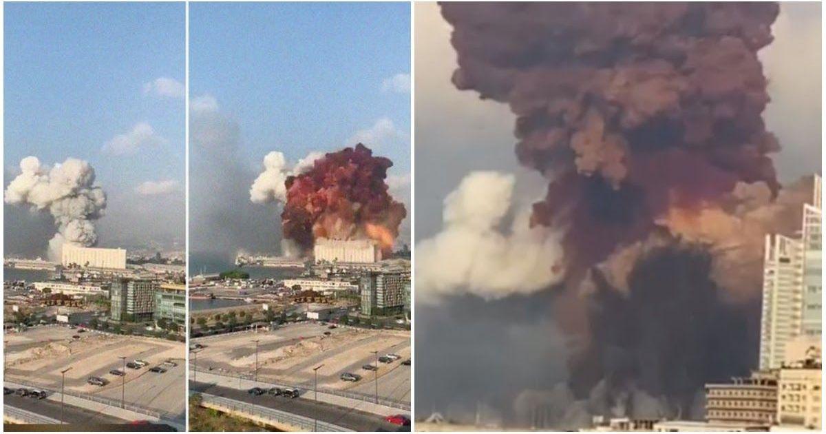 Фото Апокалипсис в Бейруте: от небывалого взрыва пострадала половина города