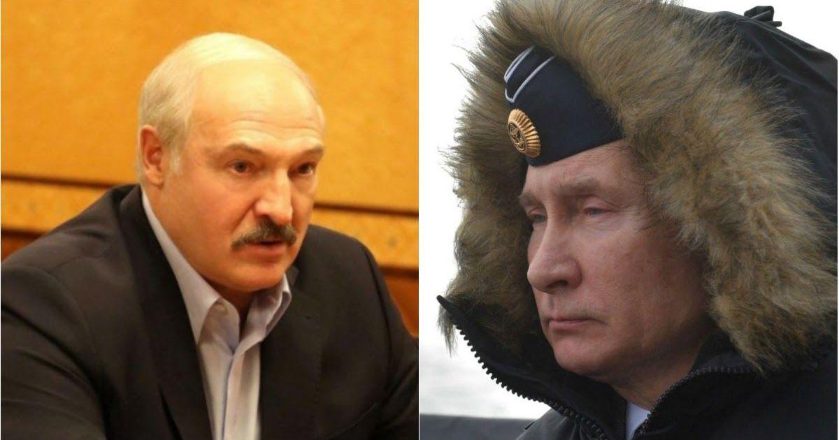 Фото Лукашенко: Путин не сможет удержать власть до 2036 года