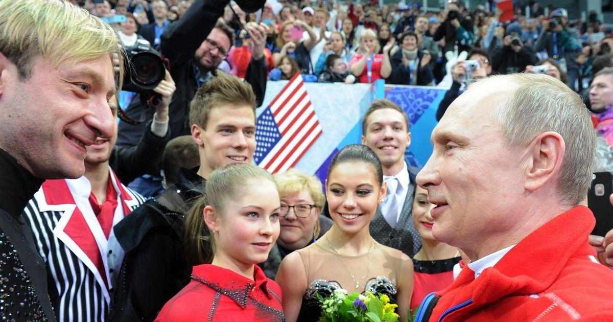 Фото Плющенко: «Хочу, чтобы Путин был президентом как можно дольше»