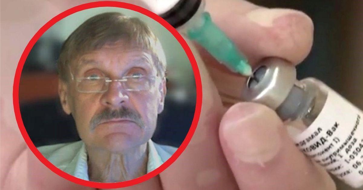 Фото Вирусолог Чумаков отказался прививаться российской вакциной от COVID