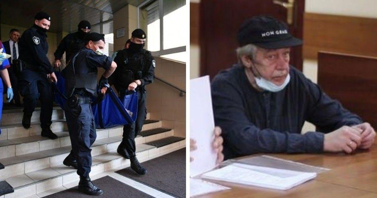 Фото Что известно о состоянии Ефремова, попавшего из суда в реанимацию