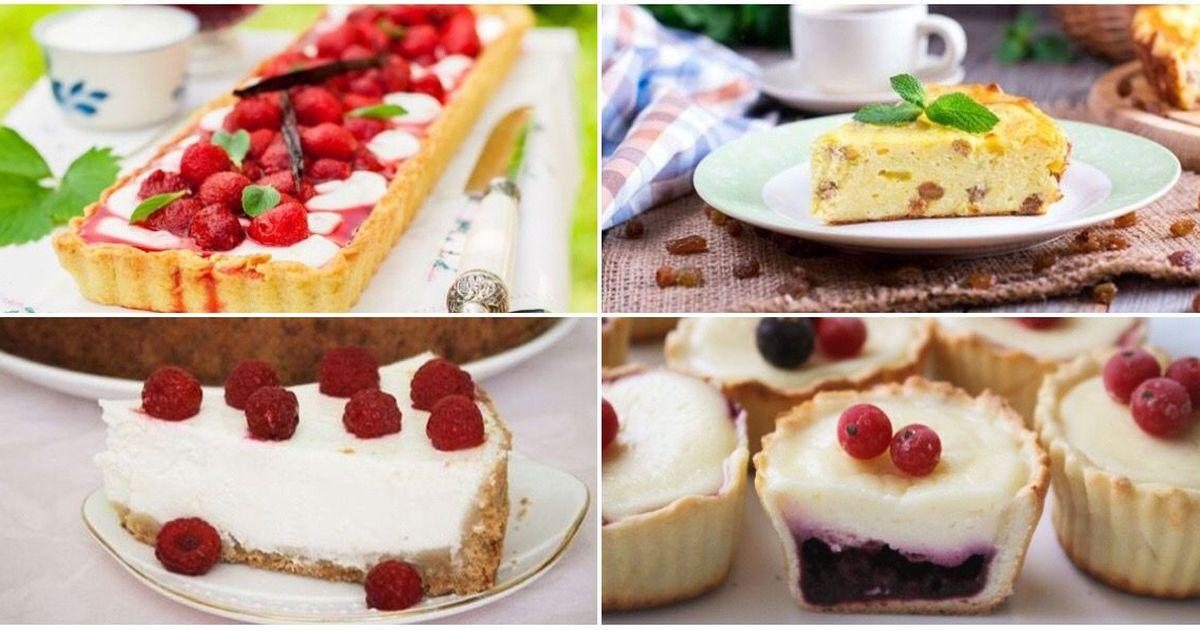 Фото Подборка творожных десертов