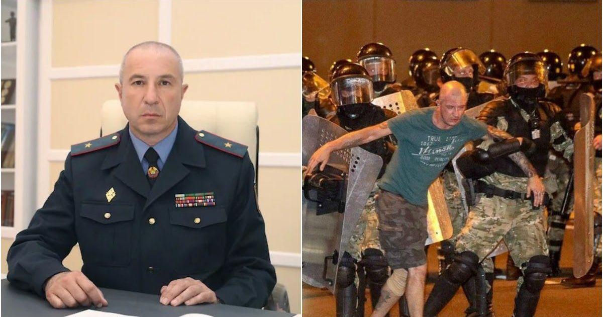 Фото Глава МВД извинился перед «случайно избитыми» протестующими в Белоруссии