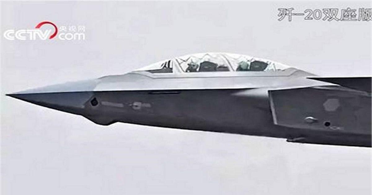 Фото Китай показал истребитель нового типа