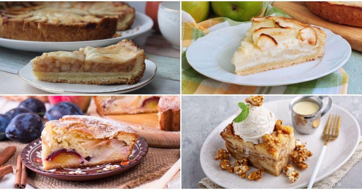 Фото 7 вкусных рецептов пирога с яблоками