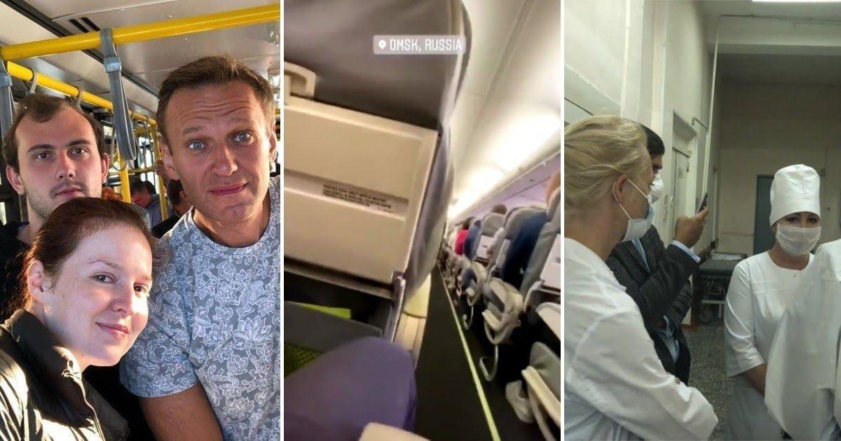 Фото Кома и эвакуация за границу. Что известно о состоянии Навального