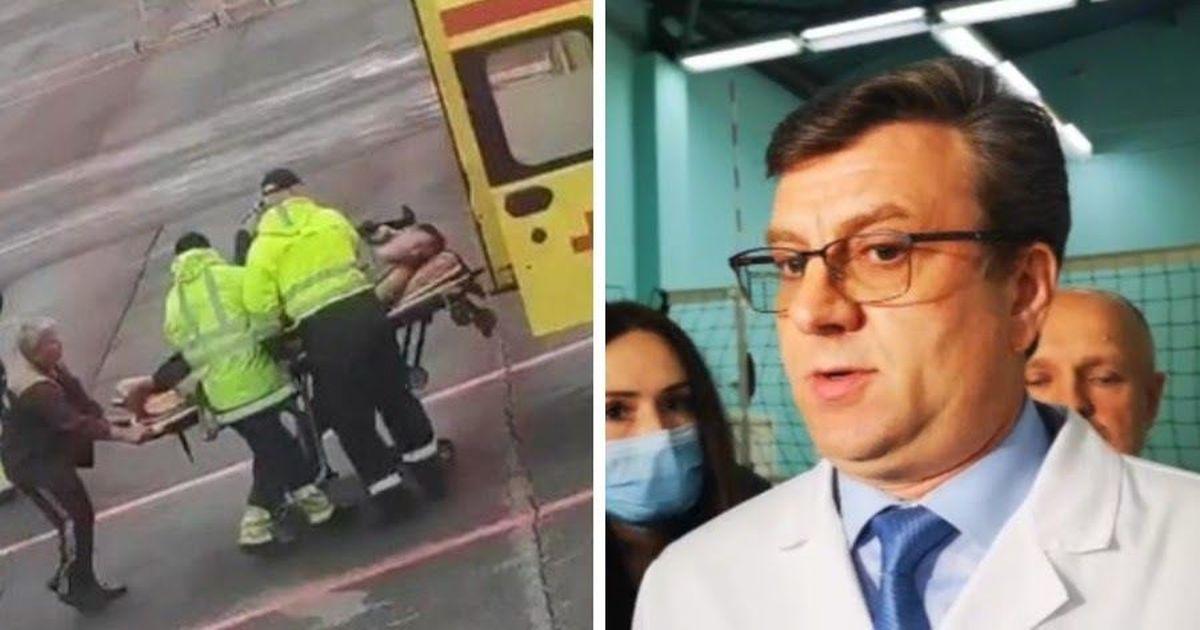 Фото Главврач омской больницы рассказал о состоянии Навального