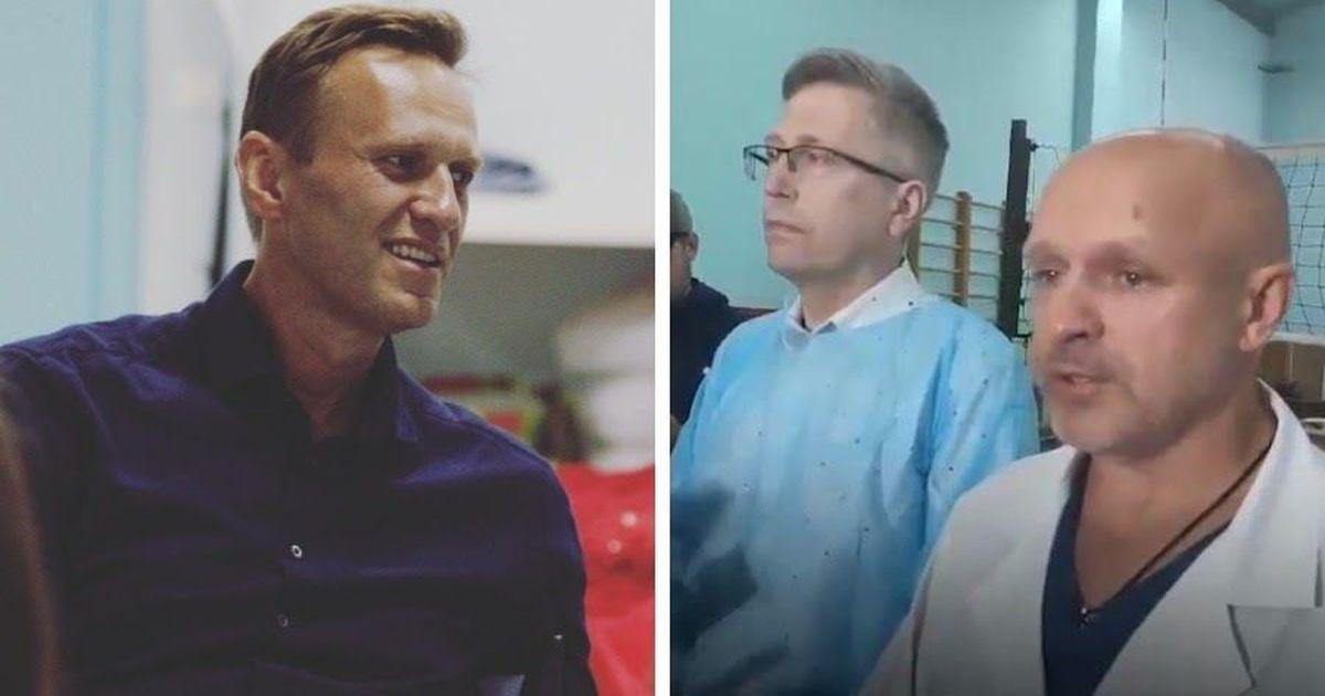 Фото «Ядов не выявлено». Врачи сообщили, что поставили диагноз Навальному