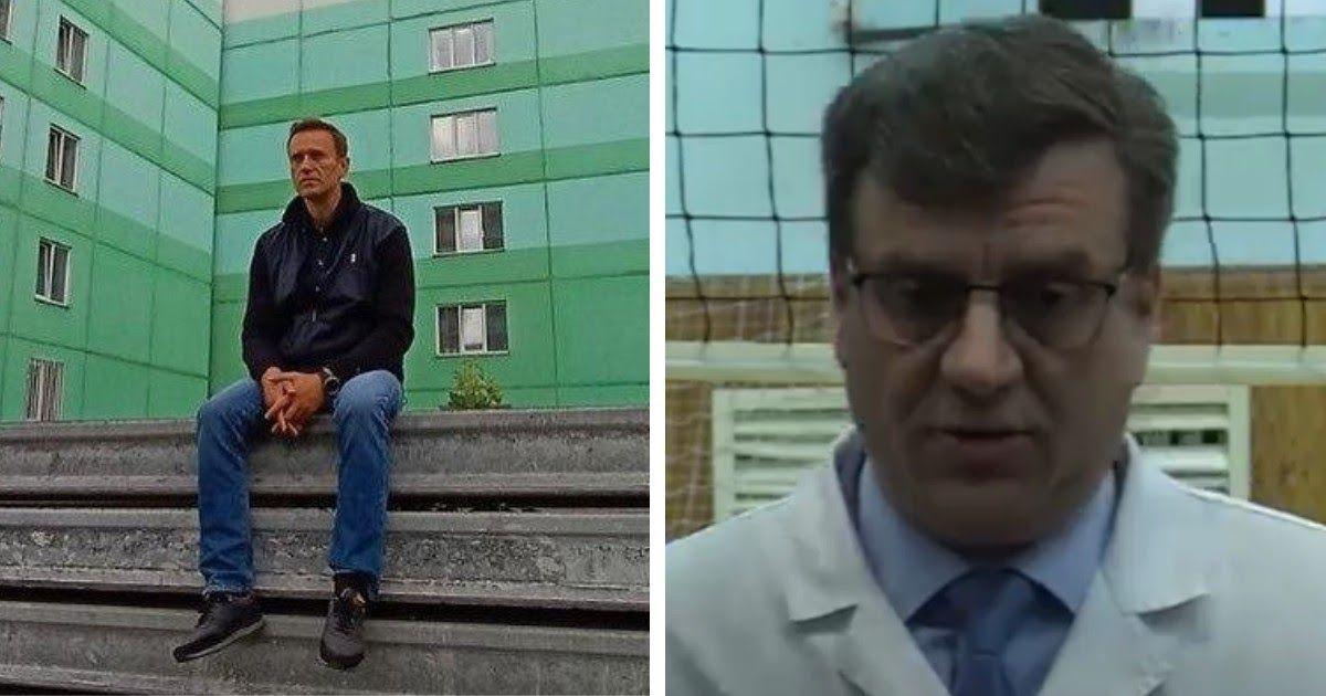 Фото Врачи отказались отпускать Навального в Германию