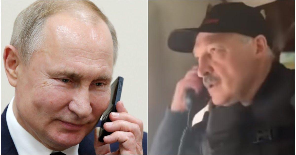 Фото Кремль раскрыл содержание нового разговора Путина и Лукашенко
