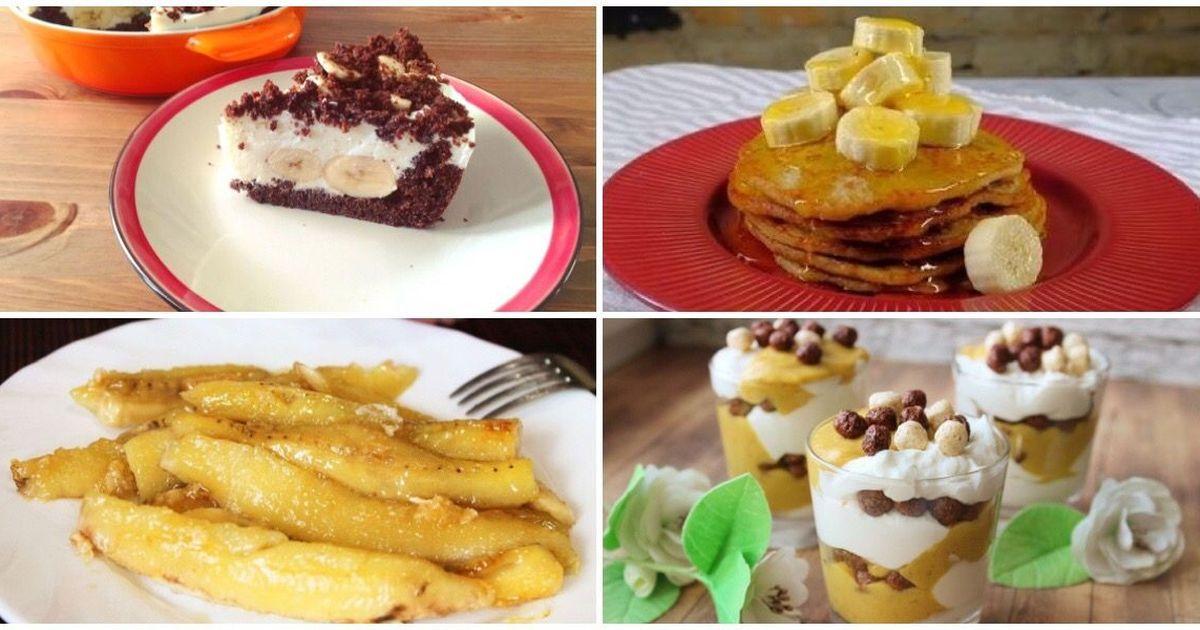 Фото 7 вкусных банановых десертов