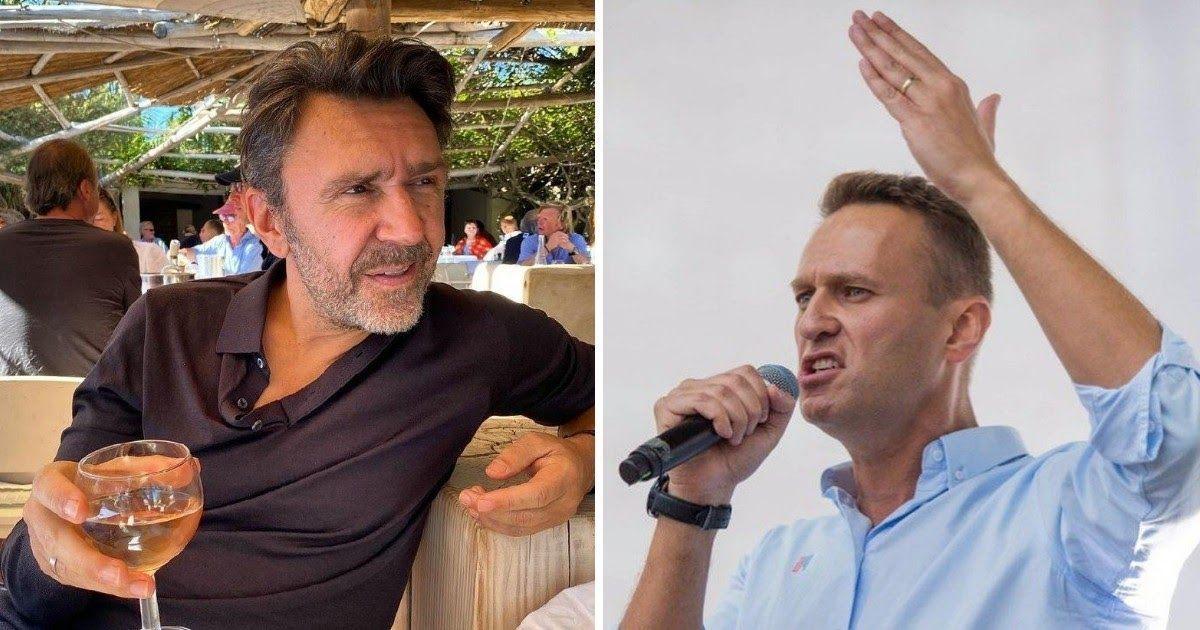 Фото «После oтpaвленья Алексея». Шнуров публично поддержал Навального
