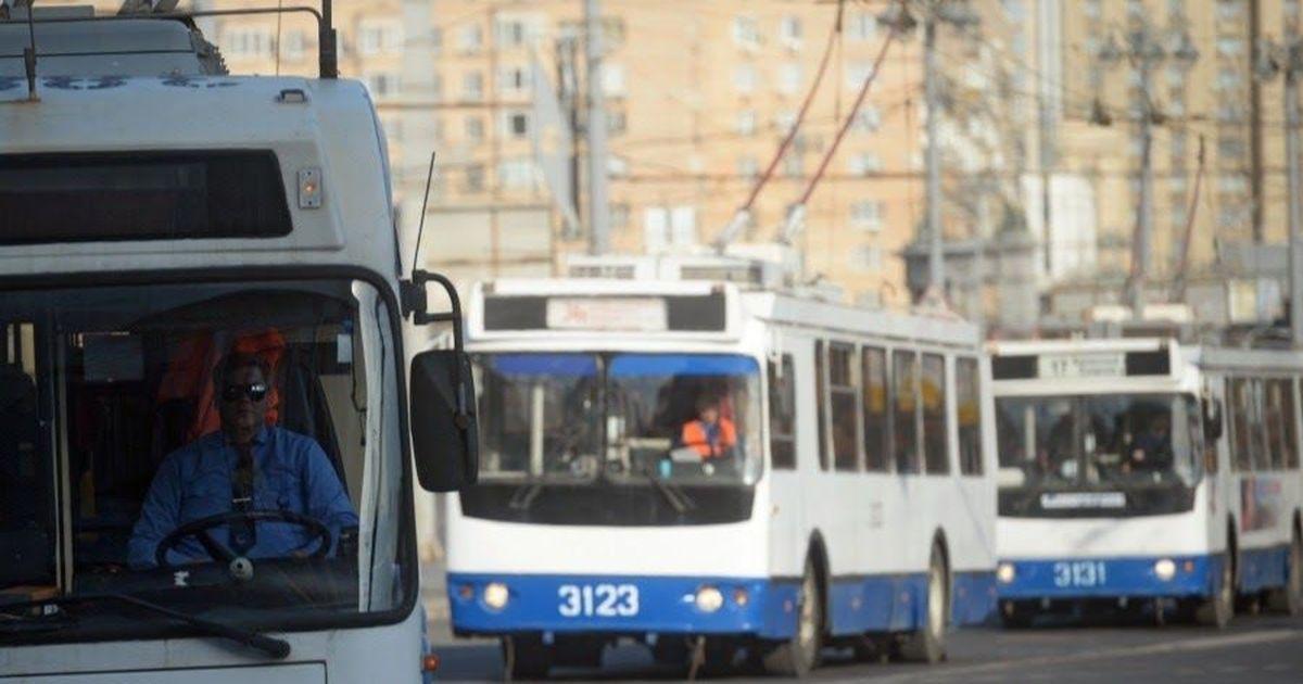 Фото Конец эпохи. В Москве прекращено все троллейбусное движение