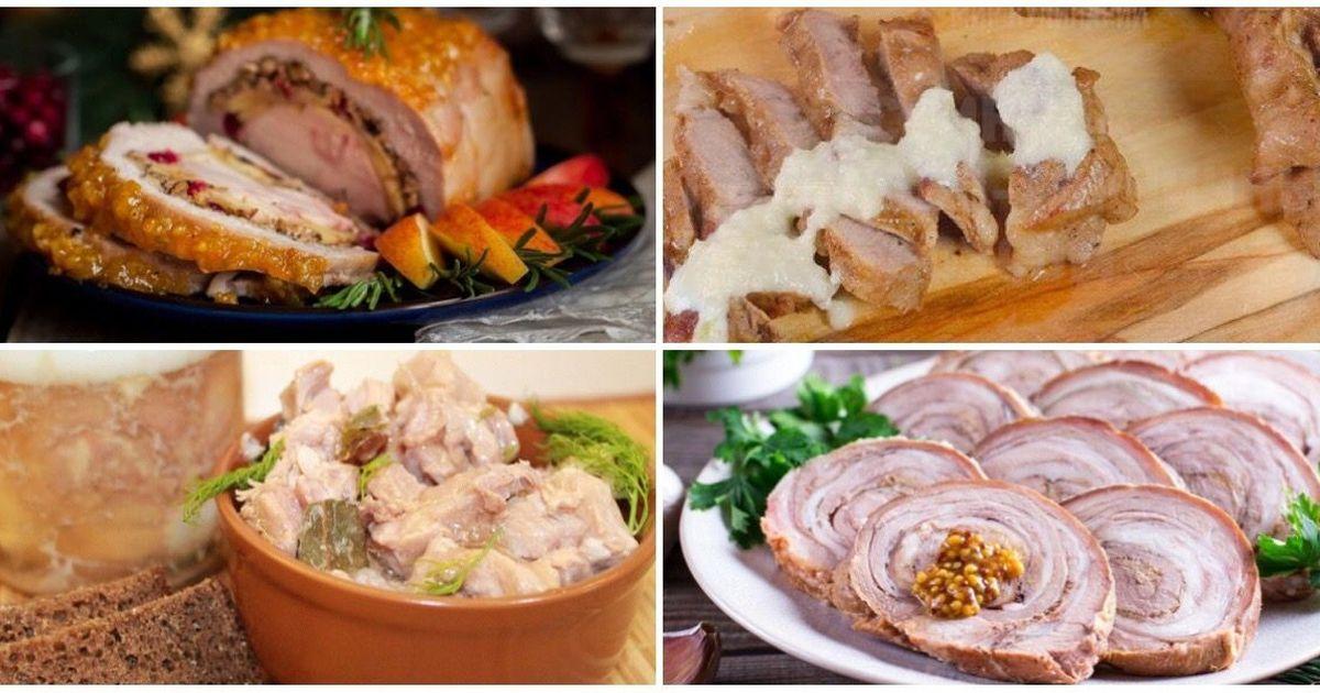 Фото 7 сытных рецептов со свининой
