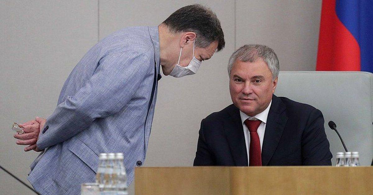 Фото Володин заподозрил провокацию Запада с госпитализацией Навального
