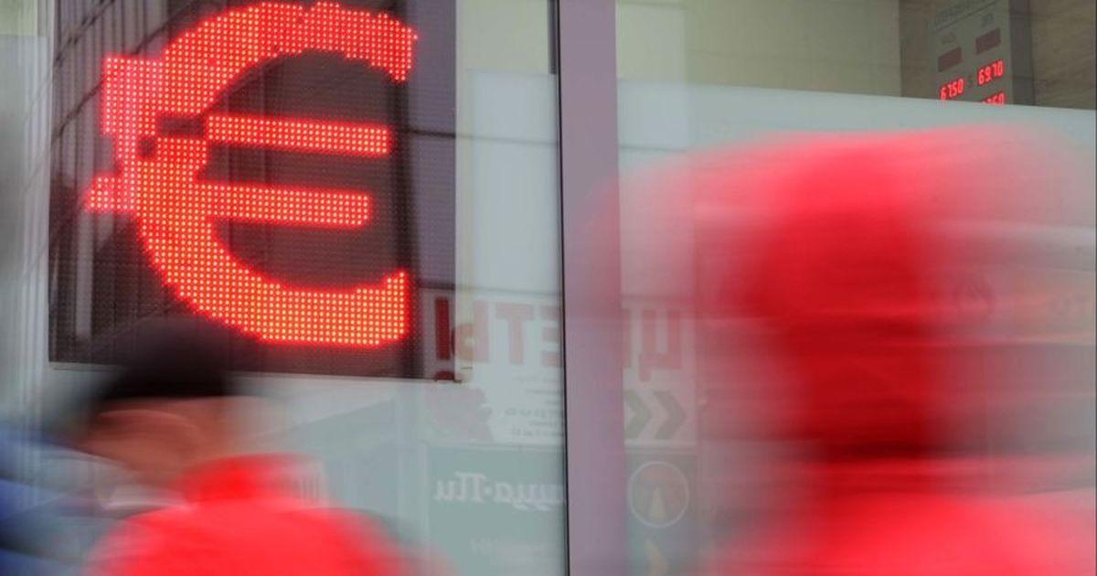 Фото Курс евро впервые за пять месяцев превысил 89 рублей