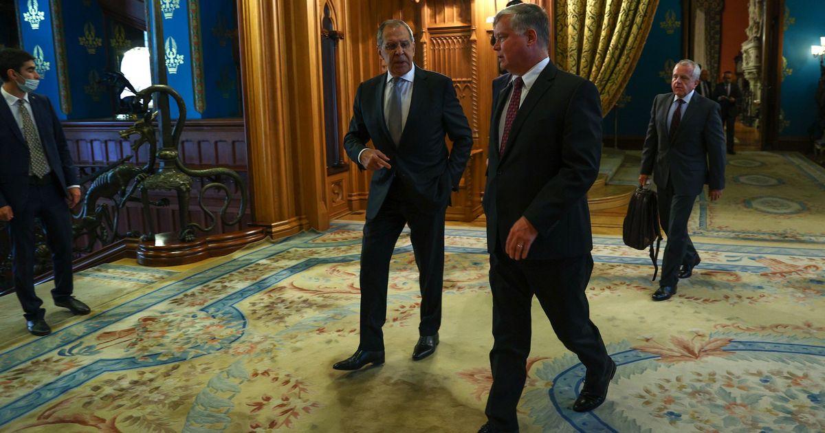 Фото Лавров: США пообещали не провоцировать кризис в Белоруссии