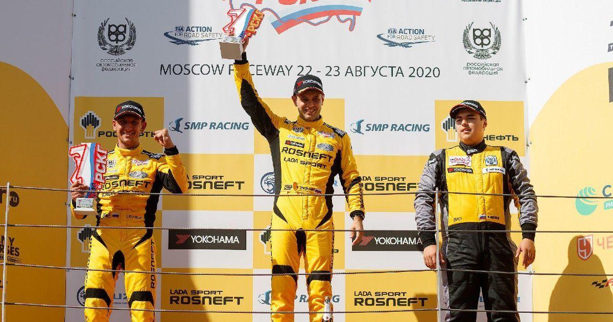 Фото Пилоты LADA Sport ROSNEFT одержали три победы на экваторе кольцевого сезона