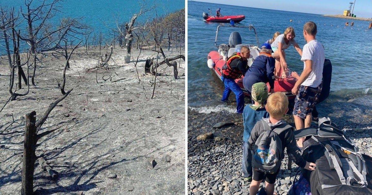Фото Владелец катера оправдался за платное спасение людей из горящего