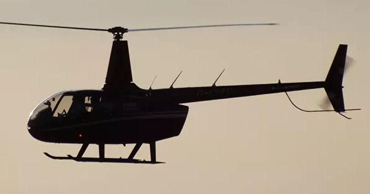 Фото В горах Сочи разбился частный вертолет