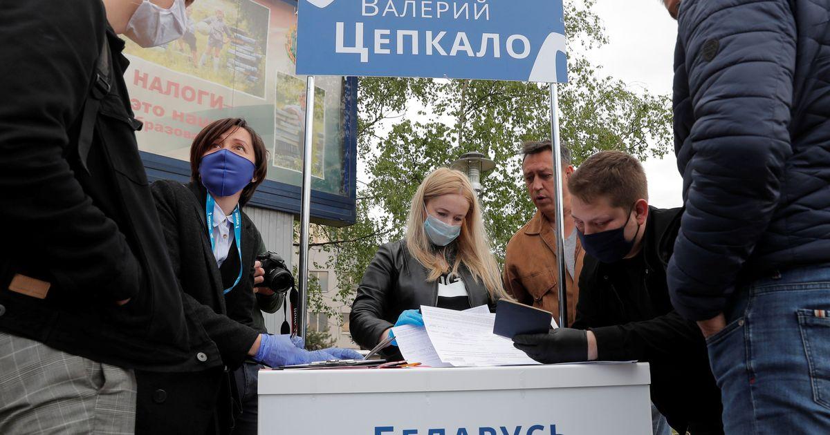 Фото В Минске проводят обыск в доме Цепкало