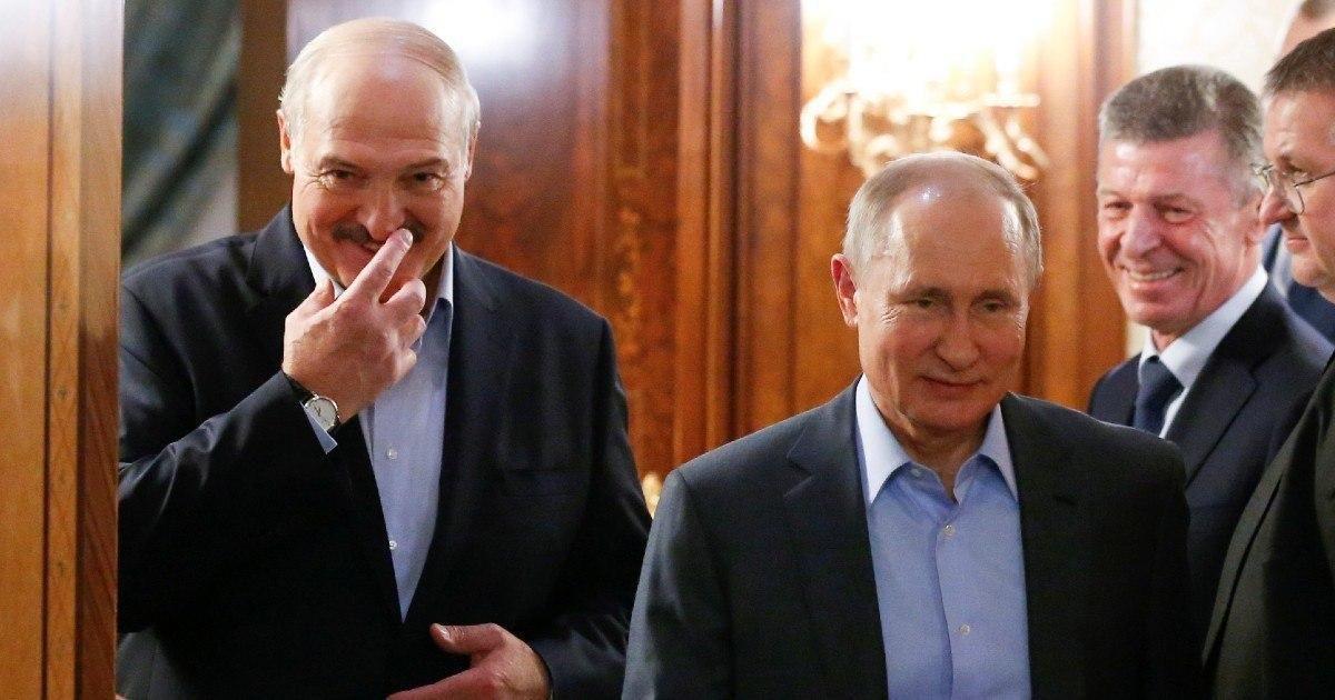 Фото Лукашенко договорился с Путиным о рефинансировании долга в $1 млрд