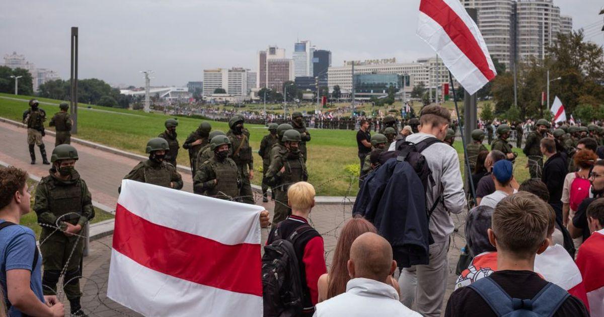 Фото Глава МВД Белоруссии идентифицирует всех, кто