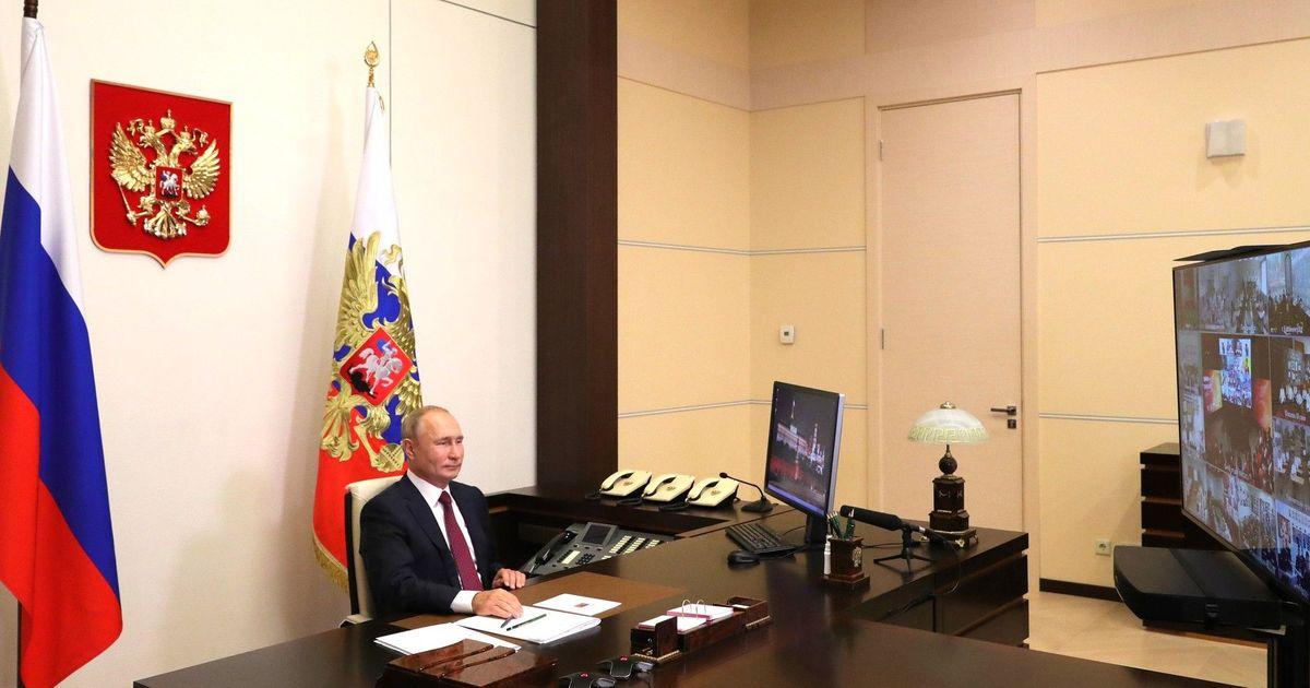 Фото Путин: пандемия показала, что Россия — не